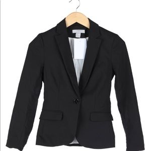 H&M basic black blazer